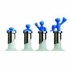 CONJUNTO 4 TAMPAS PARA GARRAFAS BOTTLED MAN AZUL http://monteluce.com.br/bugatti/conjunto-4-tampas-para-garrafas-bottled-man-azul #decor #decorar #decoracao #casa #bugatti #monteluce #decoracaodeinteriores #festa #casamento #tampasparagarrafas #bottledman #thisisliving #casa #decor #decoração #servir #receber #lardocelar #querotudo #utilidadesdomesticas #design #interiors #inspire #details #stylish #living #relax #homesweethome #colortherapy #shoponline  http://monteluce.com.br/