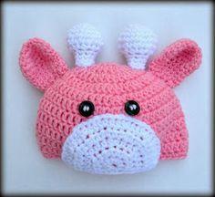 Cera Boutique: Giraffe Baby Hat