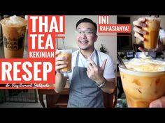 ES TEH THAILAND Ala THAI TEA DUM DUM KEKINIAN ! - RESEP dr. Ray Leonard Judijanto - YouTube Thai Tea, Drinking Tea, I Foods, Cake Recipes, Thailand, Food And Drink, Drinks, Breakfast, Youtube