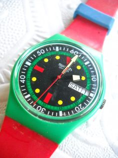 Swatch Watch by cutiepaintpusher on Etsy