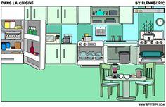 TOUCH esta imagen: Dans la cuisine by Elena