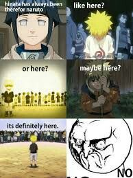 Hinata was nowhere there for Naruto from the very beginning.