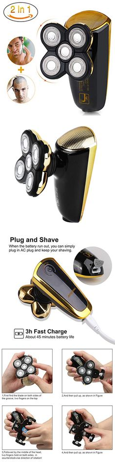 Electric Shavers 180512: Bald Head Shavers Men Smart Best Shaver Smooth Skull Cord Cordless Waterproof -> BUY IT NOW ONLY: $36.22 on eBay!