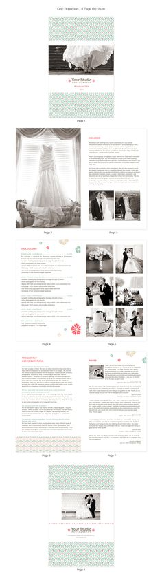wedding PDF.....I like the black and white and amount of photos....also the raves