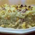 Ultimate Breakfast Casserole Recipe.  This turned out pretty scrumptious after a few tweaks.