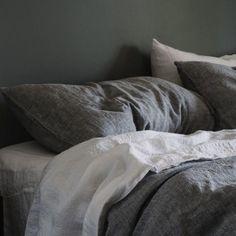 Baltic Linen Pillowcases | Ash Flax Fiber, Clean Technology, Linen Duvet, Ash Grey, Pillowcases, Warm And Cozy, Simple Designs, Linens, Duvet Covers