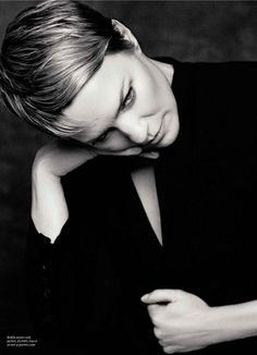 Robin Wright by David Roemer for Evening Standard, April 2013. Styling by Nathalie Riddle