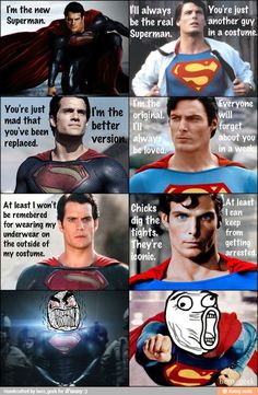Superman vs. Superman / iFunny :)