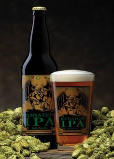 Stone Ruination IPA... my tastebuds have indeed been ruined. Nothing else has compared since
