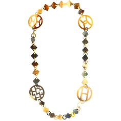 Organic Artisan Horn Necklace