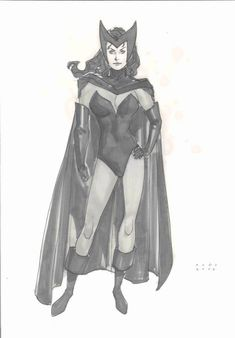Scarlet Witch by Phil Noto *