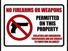 Are no firearms signs legally enforceable in Nevada? - YouTube