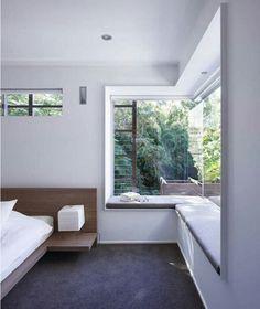 Corner window nook