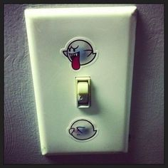 Boo-tiful Light Switch WIN I think more can be done with this idea...