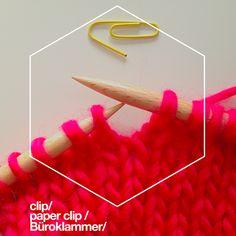 Consejos para tejer: marcadores