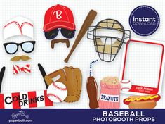 Baseball Photo Booth Props Sports Photobooth Props Vintage Baseball Party Home Run Baseball Birthday Sports Party Sports Birthday Ball - Online Image Editing - Edit Image Online - Vintage Baseball Party, Baseball Birthday Party, Sports Birthday, Sports Party, 1st Birthday Parties, Boy Birthday, Basketball Birthday, Birthday Ideas, Softball Party