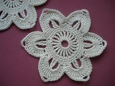 Crochet pattern/Flower/step by step - YouTube