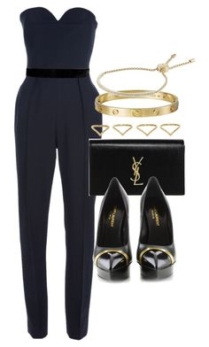 """Style #9784"" by vany-alvarado ❤ liked on Polyvore featuring Yves Saint Laurent, Balmain, Ana Khouri, Giallo, Michael Kors, women's clothing, women, female, woman and misses"