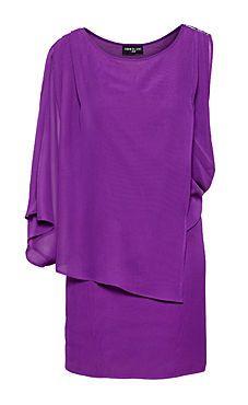Nzimiro's Purple Daisy Dress, available now at H #FashionStar