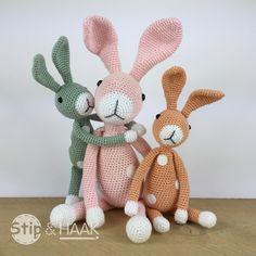 Stip & HAAK: Mini Snuf konijn