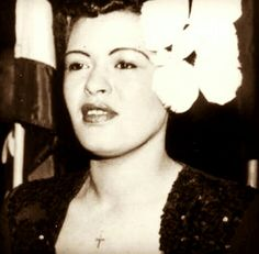 The Gorgeous And Glamorous  MS. Billie Holiday