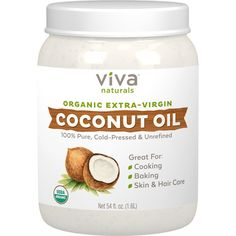 Natural Fungus Fighter - The properties of coconut oil help fight candida and yeast, promoting skin and digestion support. You'll have a happy gut in no time! Purest Form Preserves Nutrients - Each jar is unrefined, organic, and cold-pressed in order to preserve MCTs, silky texture, and pleasant tropical aroma of the coconut. | eBay!