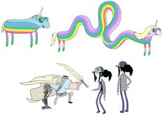 Adventure Time concept art - character designs - CONCEPT ART BLOG