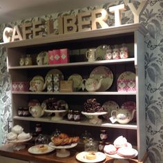 #LibertyLondon #London #Cafe #CafeLiberty #GrannyChic - Thanks to @diana.s.b! #myliberty