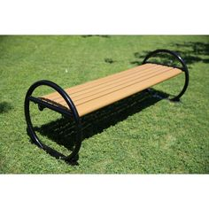 Man Made Materials Benches Composite Park Bench Planks For