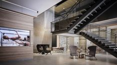 Sneak peek inside of downtown Vancouver's new luxury fitness club (PHOTOS) Luxury Gym, Stairs, Image, Home Decor, Stairway, Decoration Home, Room Decor, Staircases, Home Interior Design