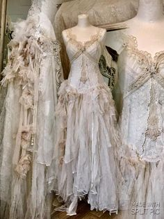 RESERVED wedding dress with roses antique french lace pearls beautiful wedding dress love