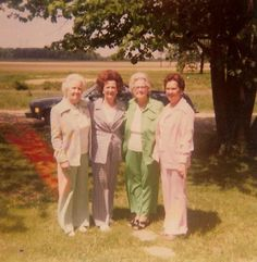 My Grandmother and her sisters. I miss them all so very much.