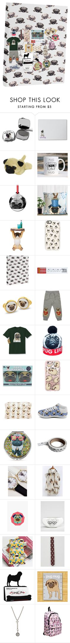 """""""Pug life"""" by sarapcr ❤ liked on Polyvore featuring interior, interiors, interior design, home, home decor, interior decorating, Casetify, DENY Designs, Ohh Deer and Halcyon Days"""