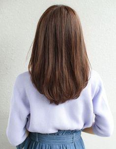 new medium layered hair styles 16 Medium Layered Hair, Medium Hair Cuts, Medium Hair Styles, Short Hair Styles, Haircuts Straight Hair, Long Face Hairstyles, Diy Hairstyles, Long Thin Hair, Short Straight Hair