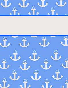 """That Redhead Blogger: """"Anchors Away"""" Binder Covers!"""