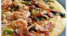 Garlic Shrimp & Cheesy Grits