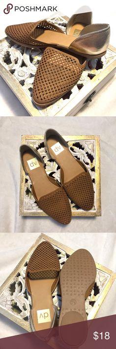 NWOT Gold/Tan Summer Sandal Gold and Tan summer Sandal from Target. Never worn! dv Target Shoes Sandals