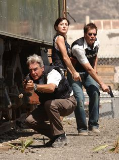 Gibbs, Kate, & Tony in action Classic NCIS