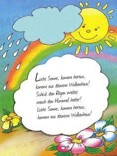 Superieur Pentru Copii, Cântece, Primăvară, Limba Germană, Rugăciuni, Creșă