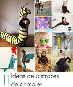 11 Ideas de disfraces de animales para hacer en casa