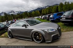 Audi TT RS  at 2013 Worthersee Pre-Week (photo: Si Gray)