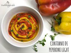 Se volete un contorno leggerissimo, il contorno di peperoni light è la ricetta che fa per voi! Se, come me, adorate i peperoni ma…