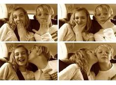 Sophie and Nico  OMG!!!!!!!!!!!!!THISSSS IS THE CUTEST THING!!!!!!!!!!!!IM OFFICIALLY SHIPPING THEMMMMMMMM!!!!!!!!!!!!