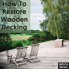 Outdoor Wood Projects, Inside Outside, Wooden Decks, Outdoor Furniture Sets, Outdoor Decor, Wood Surface, Porch Swing, Outdoor Living, Restoration
