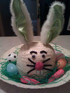 Easter hat I made for my son, super easy Easter Ideas, Easter Crafts, Crazy Hats, Crazy Socks, Buy A Bunny, Easter Hat Parade, Diy For Kids, Crafts For Kids, Easter Eggs