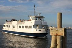 The Kiki is Davis Parks main ferry. It's an Icon of The Great South Bay and a great way to get to the beach.  You can also follow these guys home if the fog rolls in.