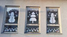Zimná výzdoba okien MŠ Pets, Winter, Frame, Christmas, Home Decor, Winter Time, Picture Frame, Xmas, Decoration Home