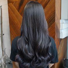 dark grey + lavender purple