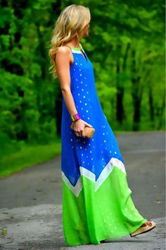 Colorful and comfortable maxi skirts and dresses for summer!