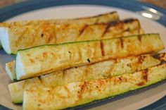 Grilled Zucchini Sticks